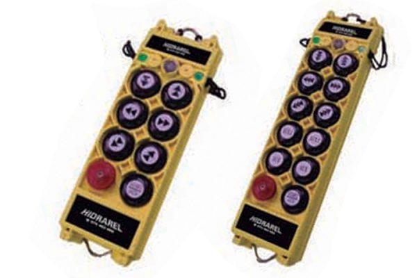 Reparación mando control remoto puente grúa gama Alpha serie 2000 y 3000