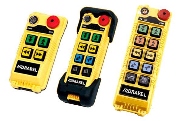 Reparación mando control remoto puente grúa gama Alpha serie 500